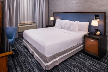 Guestroom at Fairfield Inn by Marriott New York Manhattan/Times Square in New York