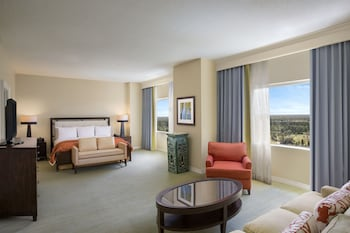 Guestroom at Hilton Orlando Bonnet Creek Resort in Orlando