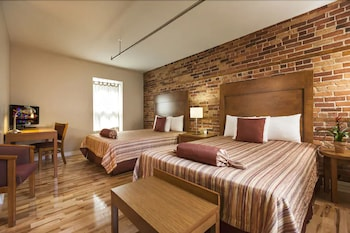 Superior Room, 2 Queen Beds, Private Bathroom