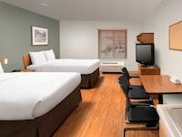 Standard Studio, 2 Double Beds, Kitchen at WoodSpring Suites Ogden in Ogden