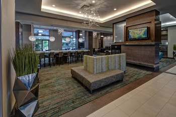 Lobby at Residence Inn Norfolk Downtown in Norfolk