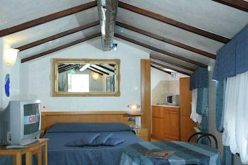 Studio in attic with terrace