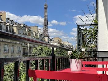 Chambre Superieure Balcon Tour Eiffel