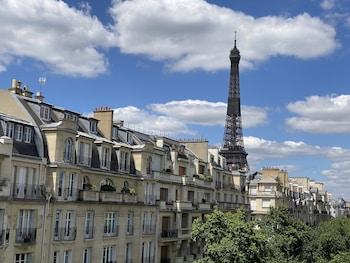 Chambre Classique Vue Tour Eiffel