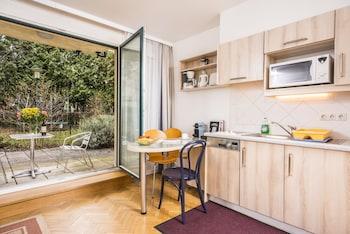 Studio, Terrace, Garden Area (2 people - Dr. Josef Resch Platz 15a)