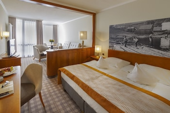 Superior Tek Büyük Yataklı Oda (panoramic View)