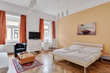 Deluxe Apartment, 2 Bedrooms, Non Smoking, Kitchen