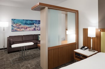 In-Room Business Center at SpringHill Suites by Marriott Orlando at SeaWorld in Orlando