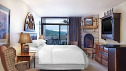 Studio, 1 King Bed, Fireplace