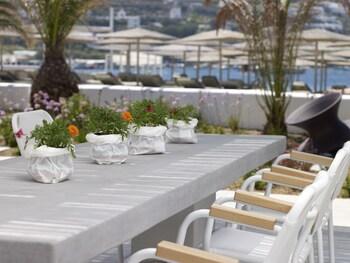 Mykonos Ammos Hotel - Outdoor Dining  - #0