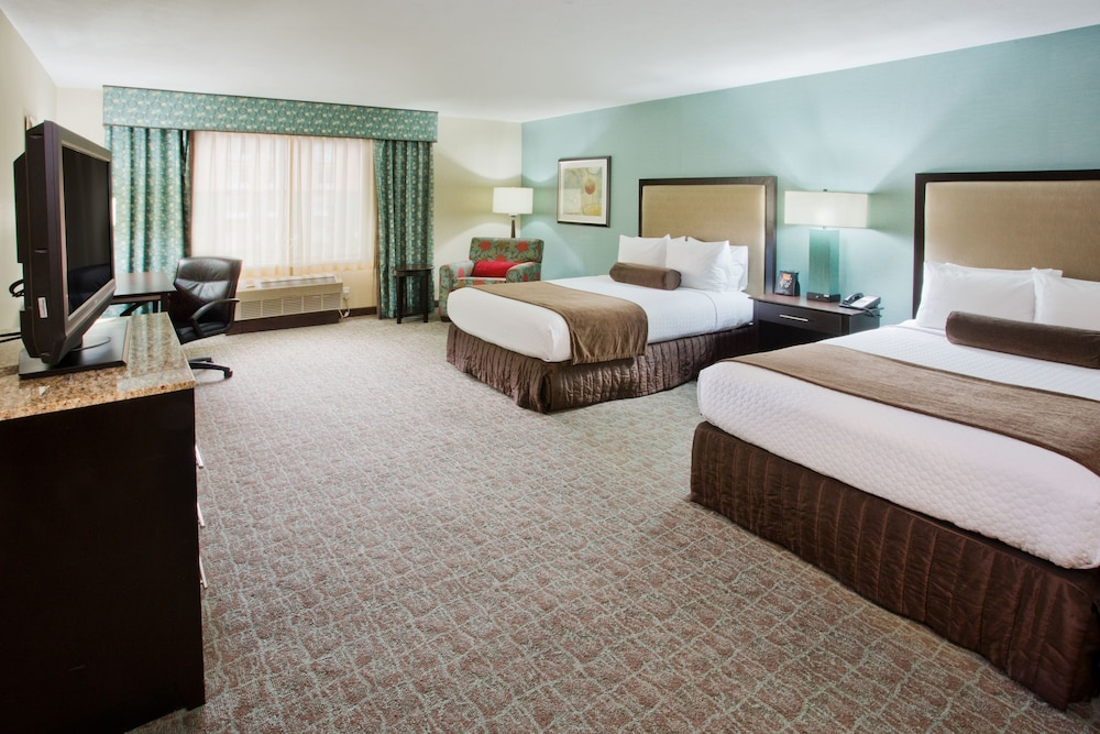 Deluxe Room, 2 Double Beds, Accessible, Bathtub (Hearing)
