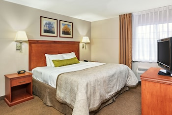 Studio Suite, 1 Queen Bed, Accessible, Bathtub (Hearing, Mobility)