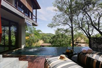 Waterfall Duplex Pool Villa