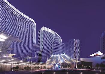 Exterior at ARIA Resort & Casino in Las Vegas