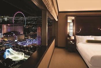Guestroom at Vdara Hotel & Spa at ARIA Las Vegas in Las Vegas