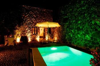 Villa, 1 Yatak Odası, Kişiye Özel Havuzlu (stone House)