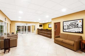 Interior Entrance at Super 8 by Wyndham Savannah in Savannah