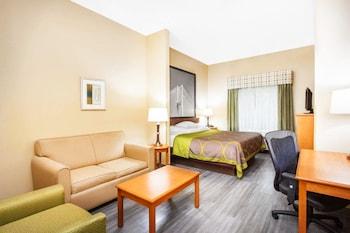 Guestroom at Super 8 by Wyndham Savannah in Savannah