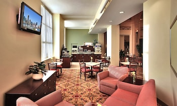 Lobby at Holiday Inn Express Baltimore Downtown in Baltimore