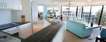 Peninsular Beachfront Resort - Living Area  - #0