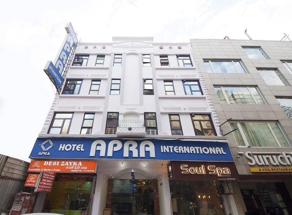 호텔 아프라 인터내셔널(Hotel Apra International) Hotel Image 62 - Hotel Entrance