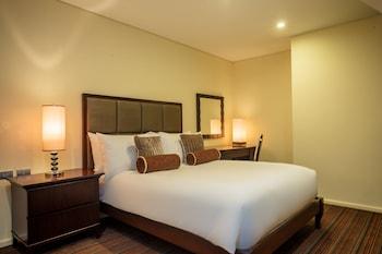 Oakwood Premier Joy Nostalg Center Manila Guestroom
