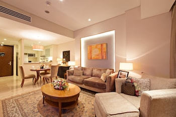 Oakwood Premier Joy Nostalg Center Manila Living Room