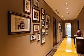 Oakwood Premier Joy Nostalg Center Manila Hallway