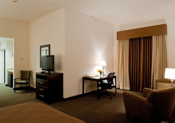 Deluxe Suite, 1 King Bed with Sofa bed, Non Smoking, Refrigerator & Microwave (with Sofabed)