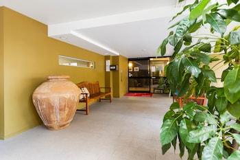 Lobby at Il Mondo Boutique Hotel in Kangaroo Point