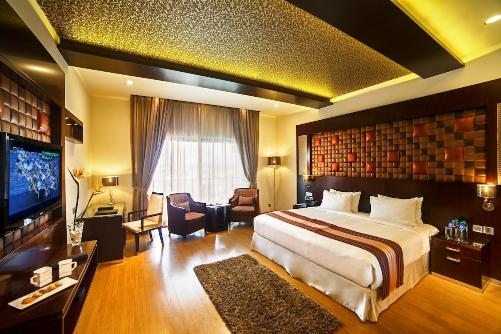 클락스 엑소티카 컨벤션, 리조트 & 스파(Clarks Exotica Convention, Resort & Spa) Hotel Image 13 - Guestroom