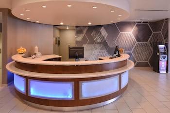Lobby at SpringHill Suites by Marriott Las Vegas Henderson in Henderson