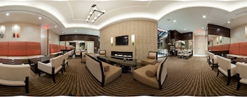 Lobby at Staybridge Suites Times Square in New York