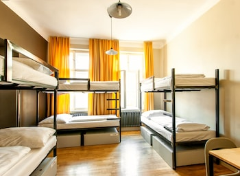 2 beds in 12 bed dorm
