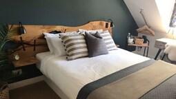 Design Tek Büyük Yataklı Oda, 1 En Büyük (king) Boy Yatak, Banyolu/duşlu