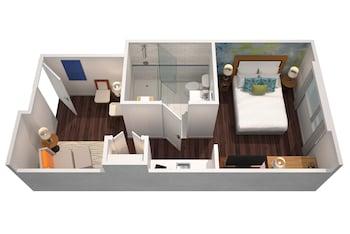 Executive Studio, 1 Queen Bed