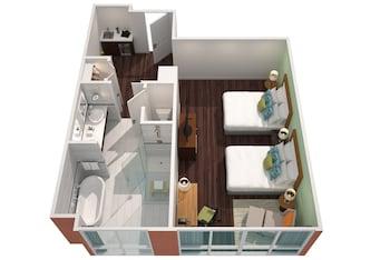 Executive Studio, 2 Queen Beds