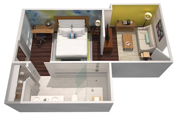 Studio, 1 King Bed (Penthouse)