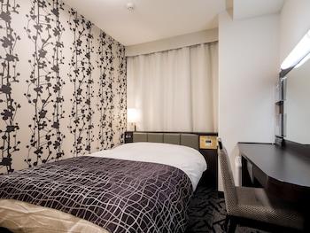 シングルルーム 1 ベッドルーム 禁煙 (11 ㎡)|11㎡|アパホテル〈岡山駅前〉