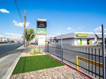 Exterior at Siegel Slots and Suites in Las Vegas