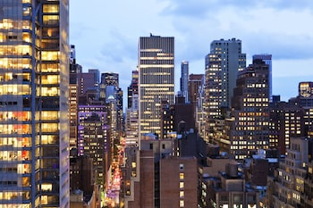 Guestroom View at Four Points by Sheraton Midtown-Times Square in New York