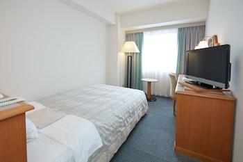 シングルルーム 喫煙 シングルサイズベッド1台|ホテルサンルート新潟