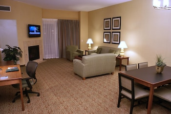 Living Room at Homewood Suites by Hilton Phoenix Airport South in Phoenix
