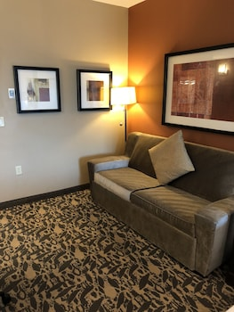Living Room at Holiday Inn Express & Suites North Dallas at Preston in Dallas