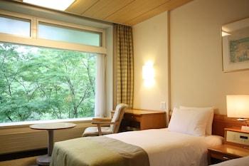 ウェスト ツインルーム 禁煙 無料WiFi|24㎡|軽井沢プリンスホテル ウエスト