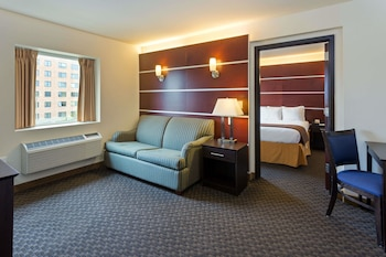 Deluxe Suite, 1 Bedroom, Non Smoking (1 King Bed, Top Floor)