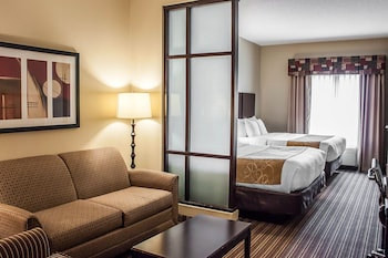 Guestroom at Comfort Suites West of the Ashley in Charleston