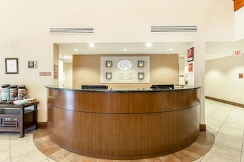 Lobby at Comfort Suites West of the Ashley in Charleston
