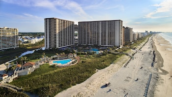 Aerial View at North Beach Plantation in North Myrtle Beach