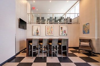 Lobby Sitting Area at Best Western Plus Plaza Hotel in Long Island City
